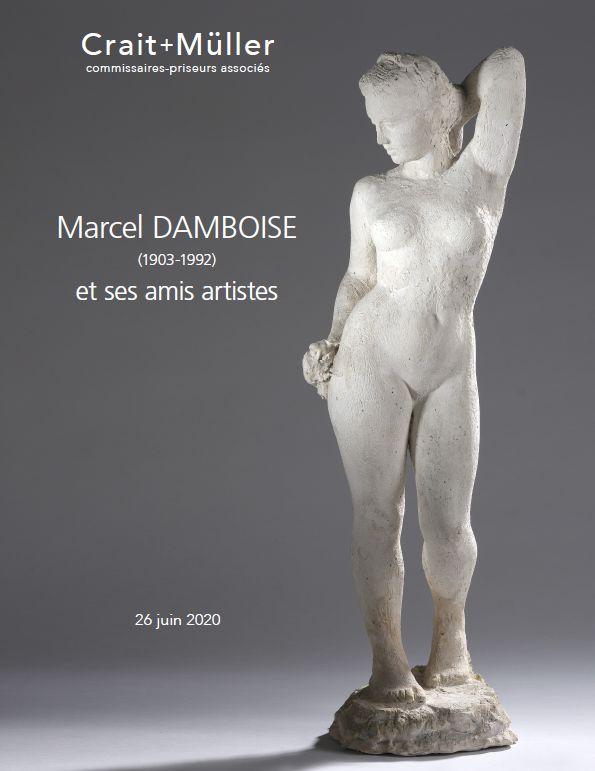 Vente Marcel Damboise (1903-1992) et ses amis artistes chez Crait + Muller : 220 lots