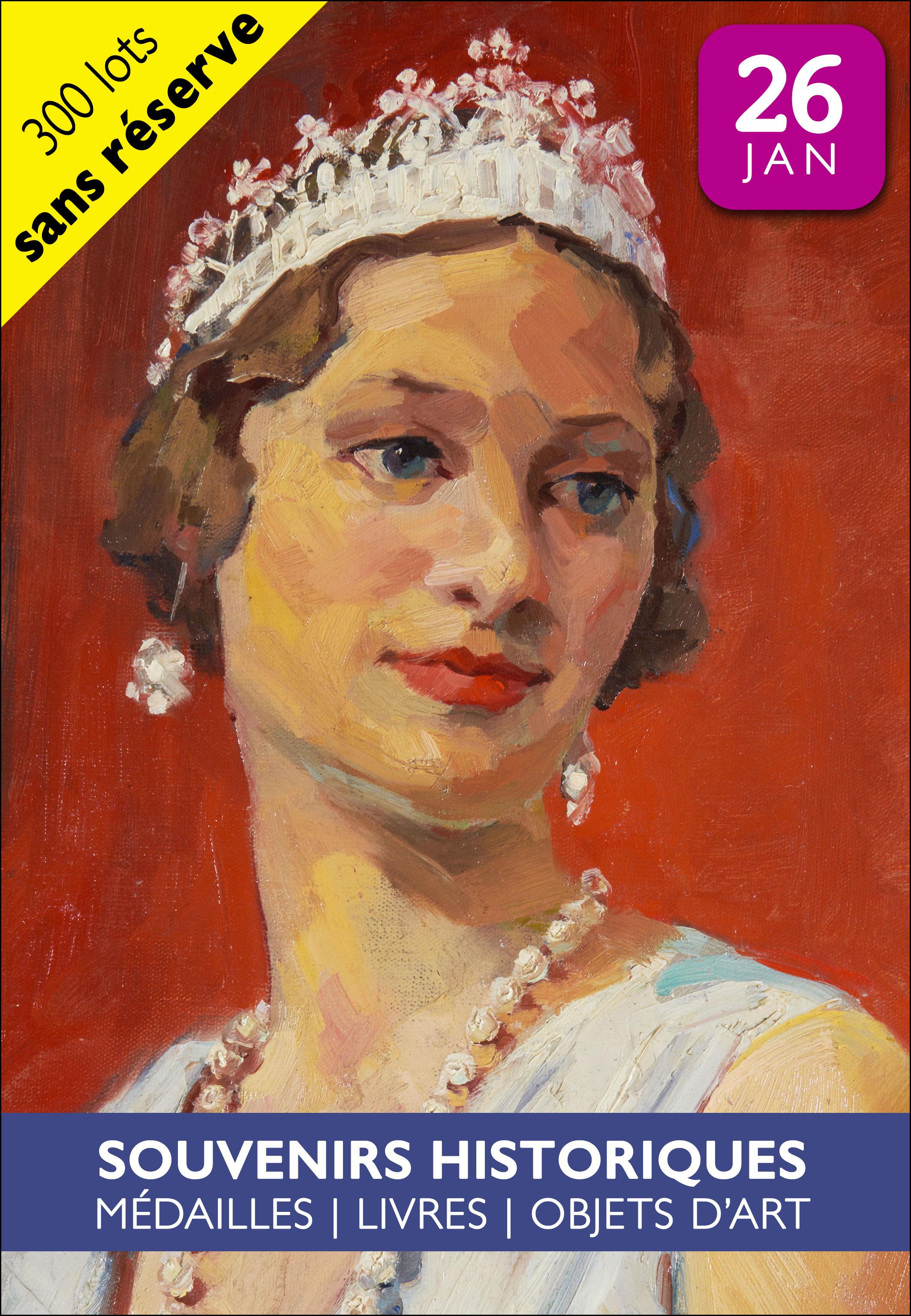 Vente Souvenirs Historiques - Royauté - Médailles - Livres et Objets d'Art  chez Estim Nation : 368 lots