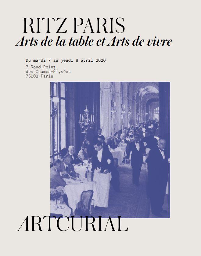 Vente Ritz Paris - Vacation 1 chez Artcurial : 158 lots