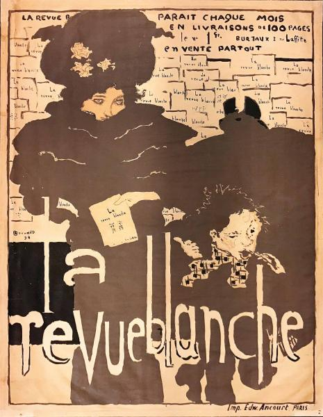 Pierre Bonnard (1867-1947), LA REVUE BLANCHE - First edition litographic poster, [...]