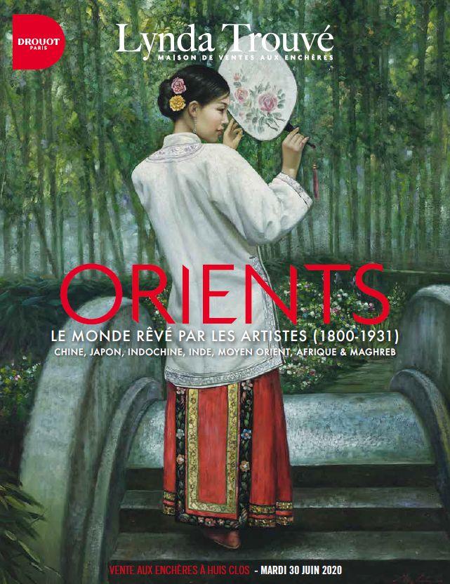 Vente Orients : le Monde rêvé par les Artistes (1889-1931)  chez Lynda Trouvé OVV : 296 lots