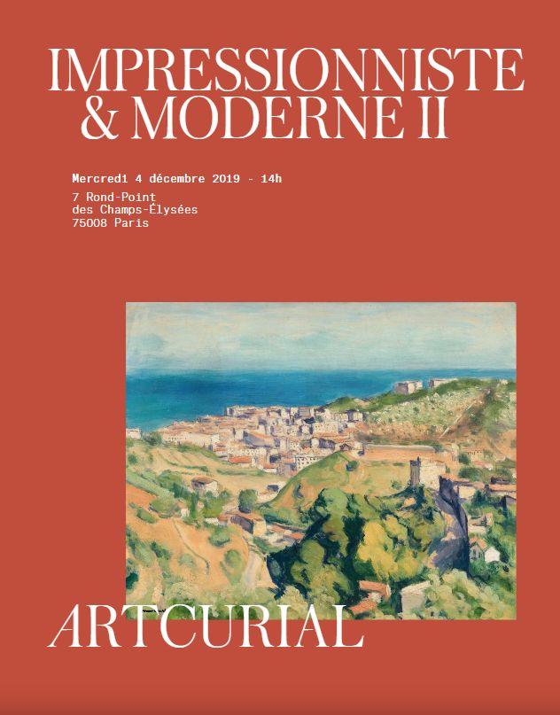 Vente Impressionniste & Moderne II chez Artcurial : 146 lots