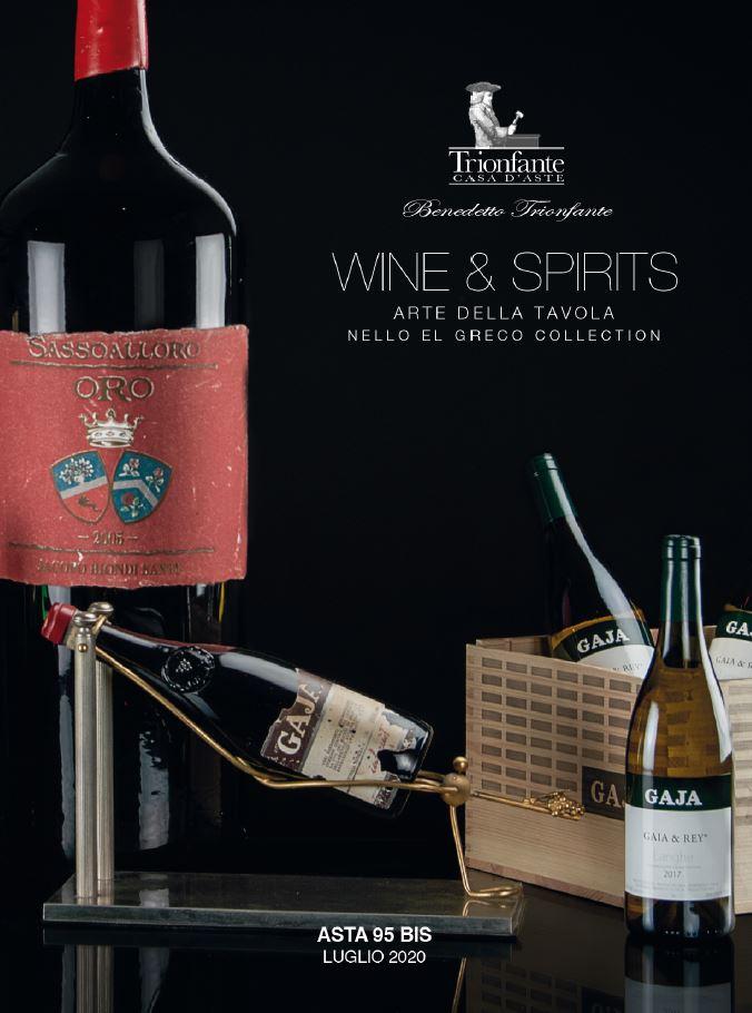 Vente Vins & Spiritueux chez Benedetto Trionfante Casa d'Aste SRL : 242 lots