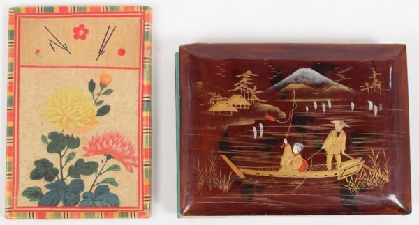 [Asian arts & photography] [Photography] Japanese lacquer album with 50 handcoloured [...]