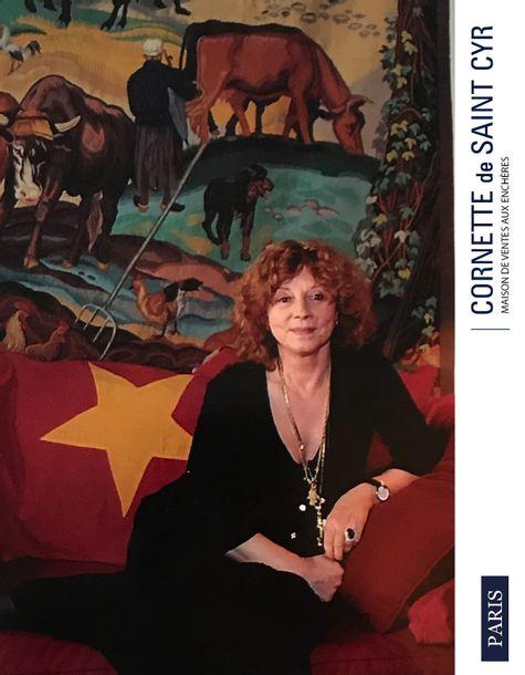 Vente Régine Deforges : Souvenirs d'une campagne aimée chez Cornette de Saint Cyr Paris : 344 lots