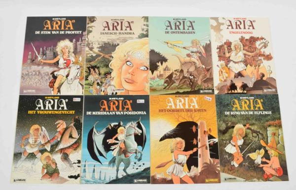 [Comics] Aryanne + Ivor + Aria etc. - Aryanne. Michel Guillou Terrence/ Smit, vol. [...]