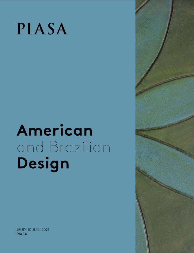 Vente American and Brazilian Design chez Piasa : 258 lots