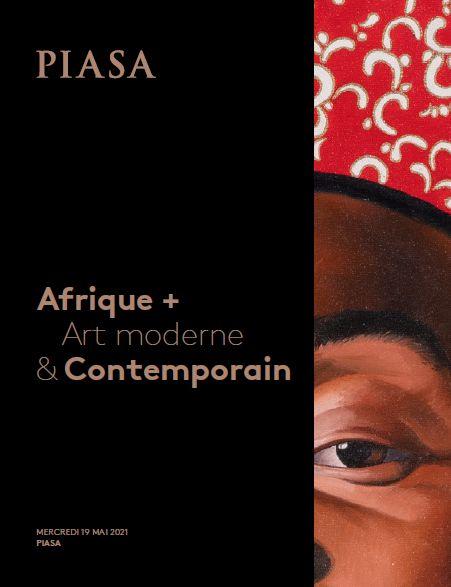 Vente Afrique + Art Moderne et Contemporain chez Piasa : 100 lots