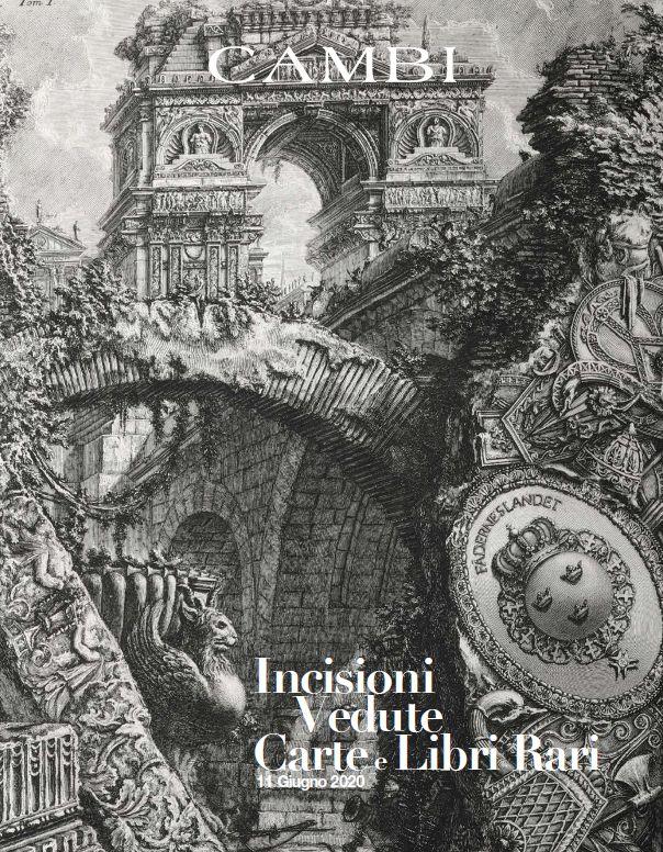 Vente Livres et Estampes Anciens et Rares (Genova) chez Cambi Casa d'Aste : 465 lots