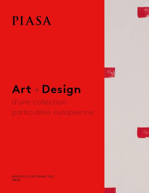 Vente Art + Design d'une collection particulière européenne chez Piasa : 96 lots
