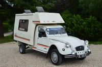 1974 citroen 2cv camping car ch ssis n 01jf2160 carte grise de collection automobiles. Black Bedroom Furniture Sets. Home Design Ideas