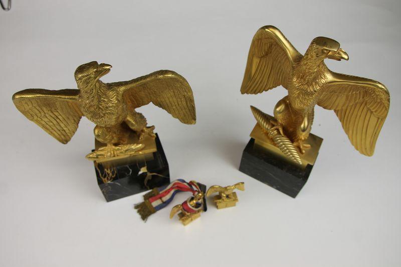 Lot de deux aigles Empire reproduction