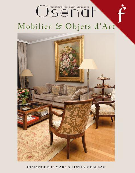 Vente Mobilier et Objets d'Art (Fontainebleau) chez Osenat : 254 lots