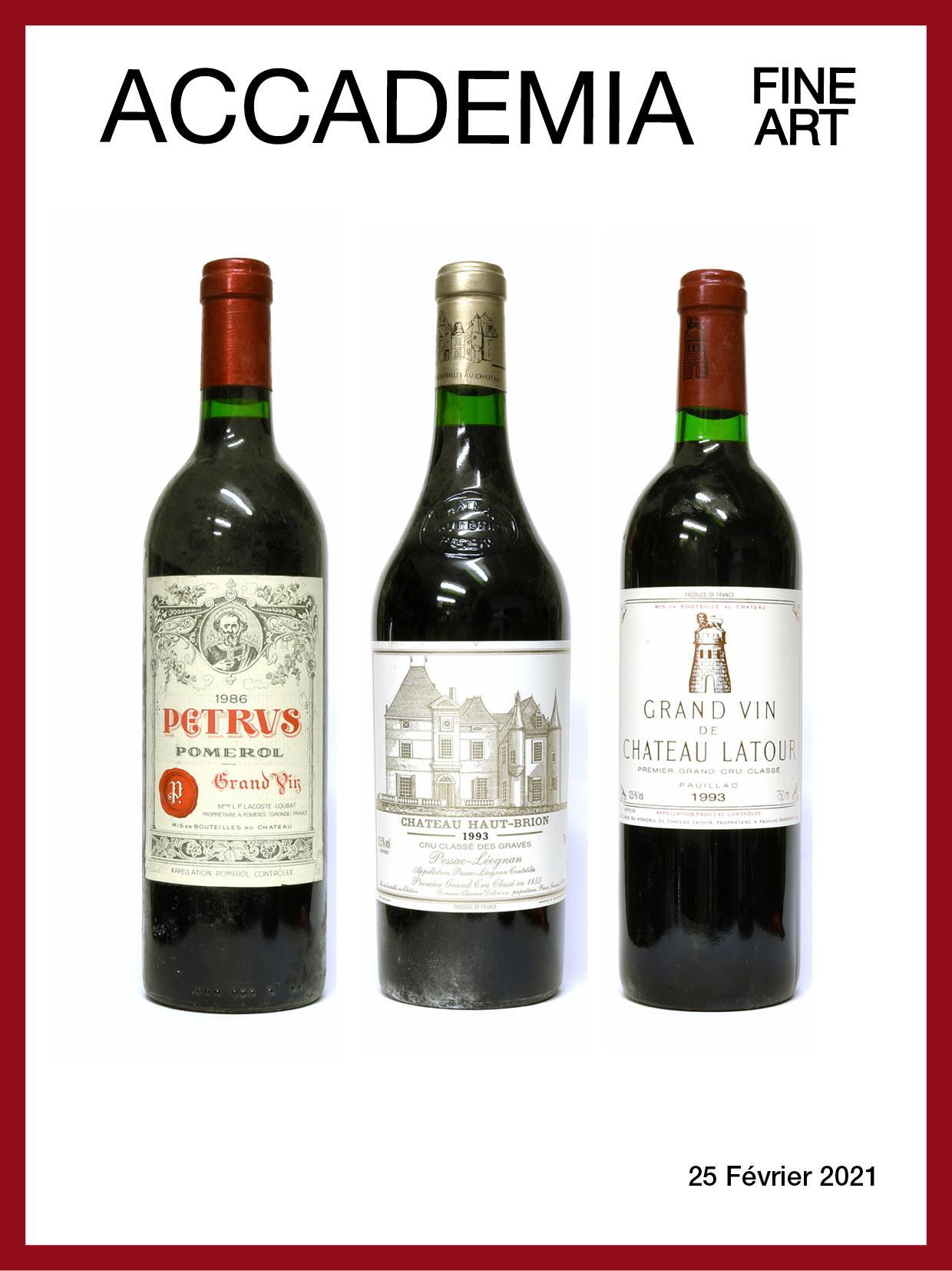 Vente Vins & Spiritueux chez Accademia Fine Art : 173 lots