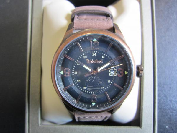 montre homme cuir timberland