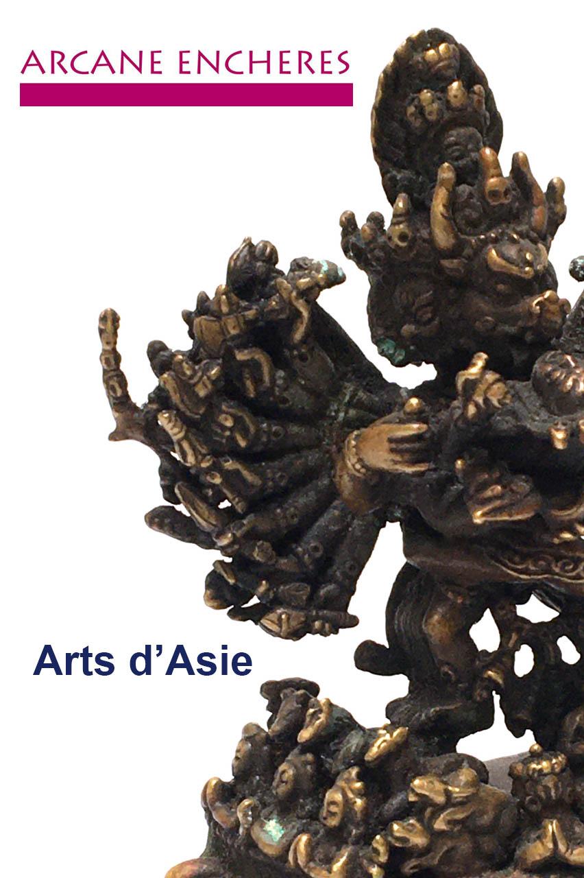 Vente Arts d'Asie Archéologie chinoise Estampes japonaises Livres & documentation chez ARCANE ENCHERES : 249 lots