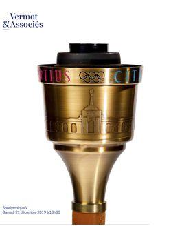 Vente Sporlympique V : 100 % Olympisme chez Vermot et Associés : 532 lots