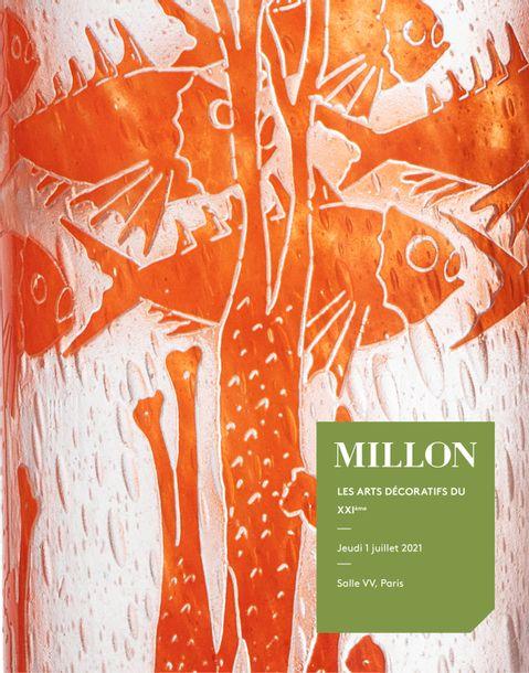 Vente Les Arts Décoratifs du XXe siècle chez Millon et Associés Paris : 386 lots