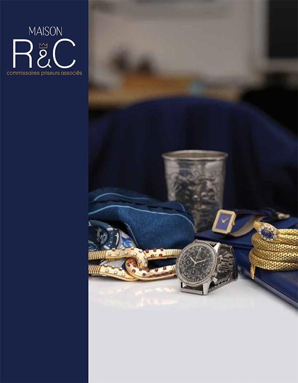 Vente Bijoux & Montres de collection  chez Maison R&C Commissaires-Priseurs Associés : 437 lots