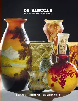 Vente Art Nouveau - Art Déco chez De Baecque & Associés : 415 lots