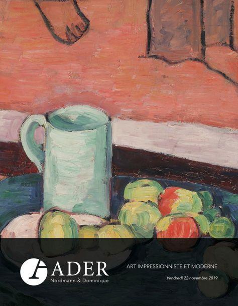 Vente Art Impressionniste & Moderne - Prestige chez Ader : 74 lots