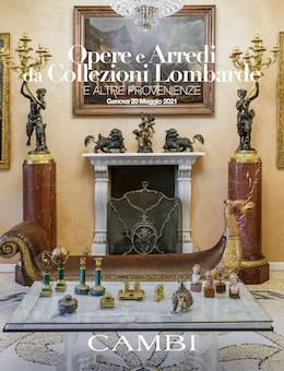 Auction Oeuvres d'Art et Mobilier provenant de Collections Lombardes (Genova) at Cambi Casa d'Aste : 376 lots