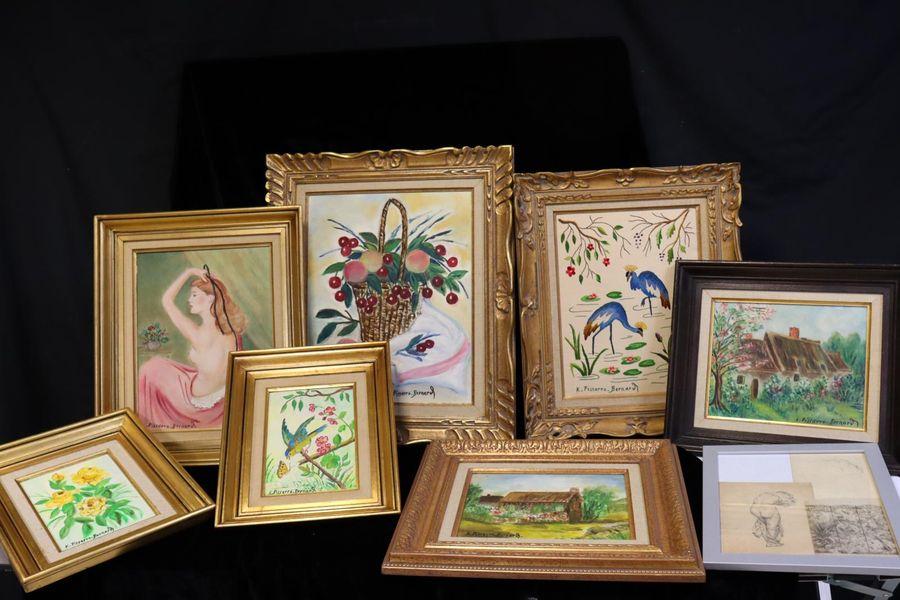 Vente Collection Pissarro Bernard II  (Nice) chez Millon et Associés Paris : 49 lots