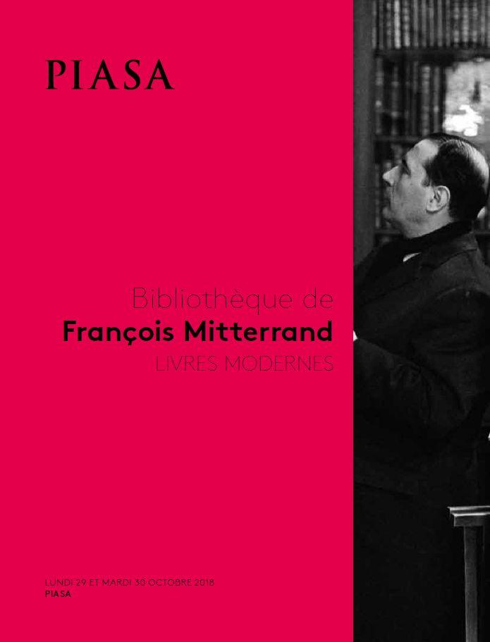 Vente Bibliothèque de François Mitterrand chez Piasa : 349 lots
