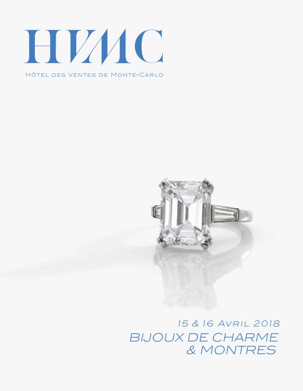 Vente Bijoux de Charme & Montres chez Hôtel des Ventes de Monte-Carlo : 233 lots