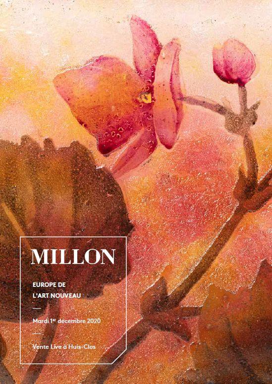 Vente L'Europe de l'Art Nouveau chez Millon et Associés Paris : 257 lots