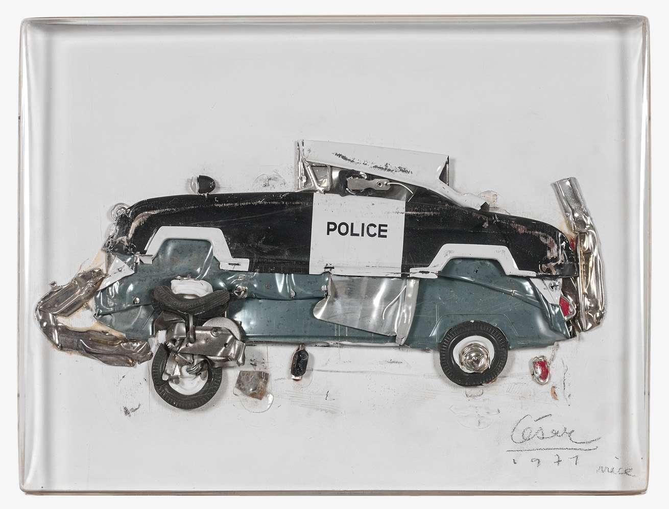 Nouvel CÉSAR (1921 - 1998) - SANS TITRE - 1971 - Compression de voiture TE-07