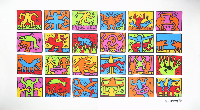 Vente Haring, Fairey, Kaws, Seen, JonOne : Vente Street Art et Contemporain chez Sadde - Dijon : 258 lots