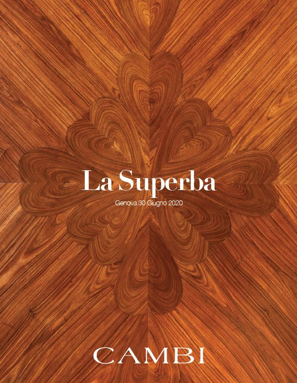 Vente La Superba, Hommage à Gênes et à ses Arts (Genova) chez Cambi Casa d'Aste : 78 lots
