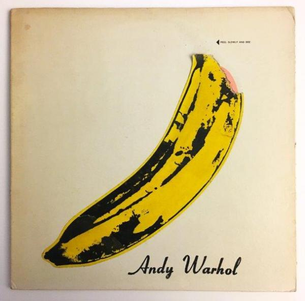 WARHOL Andy (1928-1987) The velvet underground and Nico Impression sur pochette de [...]