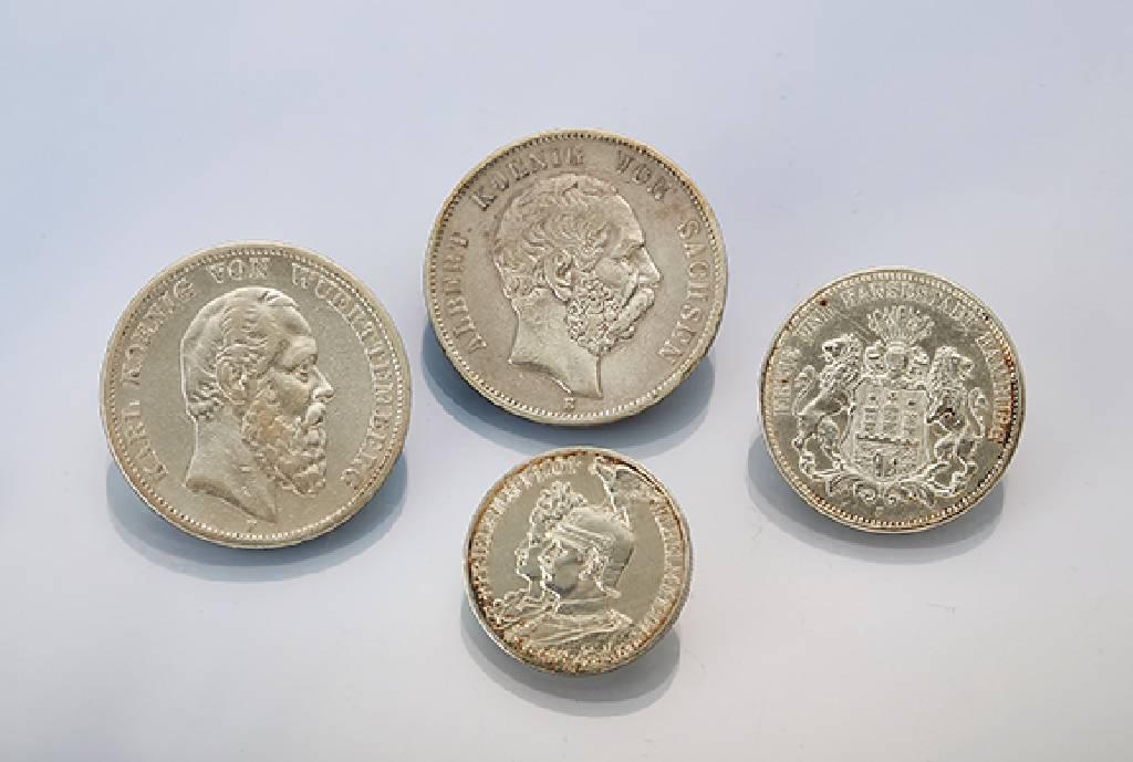 Konvolut 12 Silbermünzen Deutschland Best Aus 1 X 2 Mark 1913