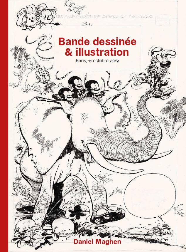 Vente Bande Dessinée et Illustration chez Daniel Maghen Enchères et Expertises : 226 lots
