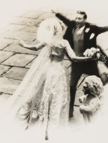 NO RESERVE Norman Parkinson (1913-1990) The Wedding Embrace; Wedding Couple with [...]
