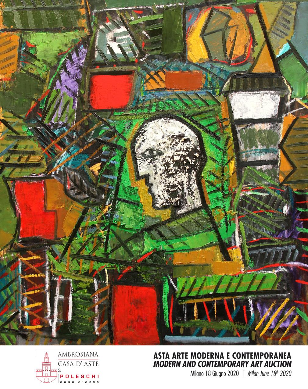 Vente Art Moderne et Contemporain chez Ambrosiana Casa D'Aste : 196 lots