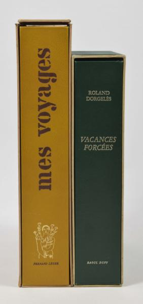 [Fine arts: 20th century part I] Two works: (1) Vacances forcées. Roland Dorgelès. [...]