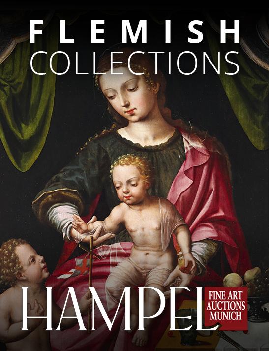 Vente Catalogue III - Sélection de Collections flamandes chez Hampel Fine Art Auctions : 54 lots