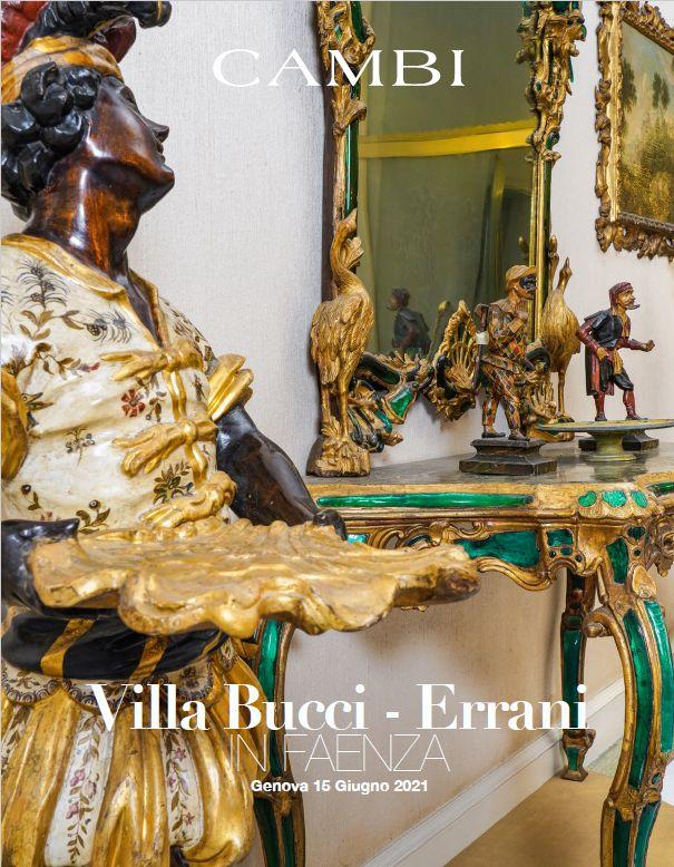 Vente La Villa Bucci-Errani à Faenza  (Genova) chez Cambi Casa d'Aste : 317 lots