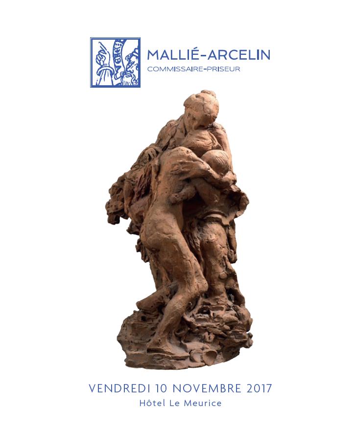 Vente Sculptures, Tableaux et Dessins provenant de la Collection du Baron Detlev von  Hadeln et à divers chez MALLIÉ-ARCELIN : 62 lots