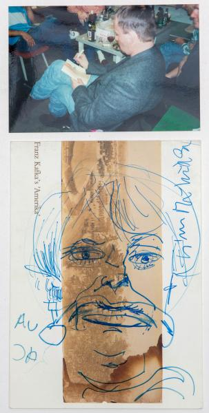 Martin Kippenberger (1953-1997) - Untitled, indistinctly inscribed (upper right), [...]