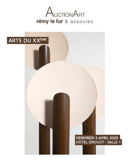 Vente Arts du XXème  chez AuctionArt - Rémy Le Fur & Associés : 302 lots