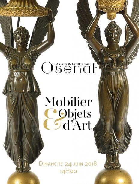 Vente Mobilier et Objets d'Art chez Osenat : 220 lots