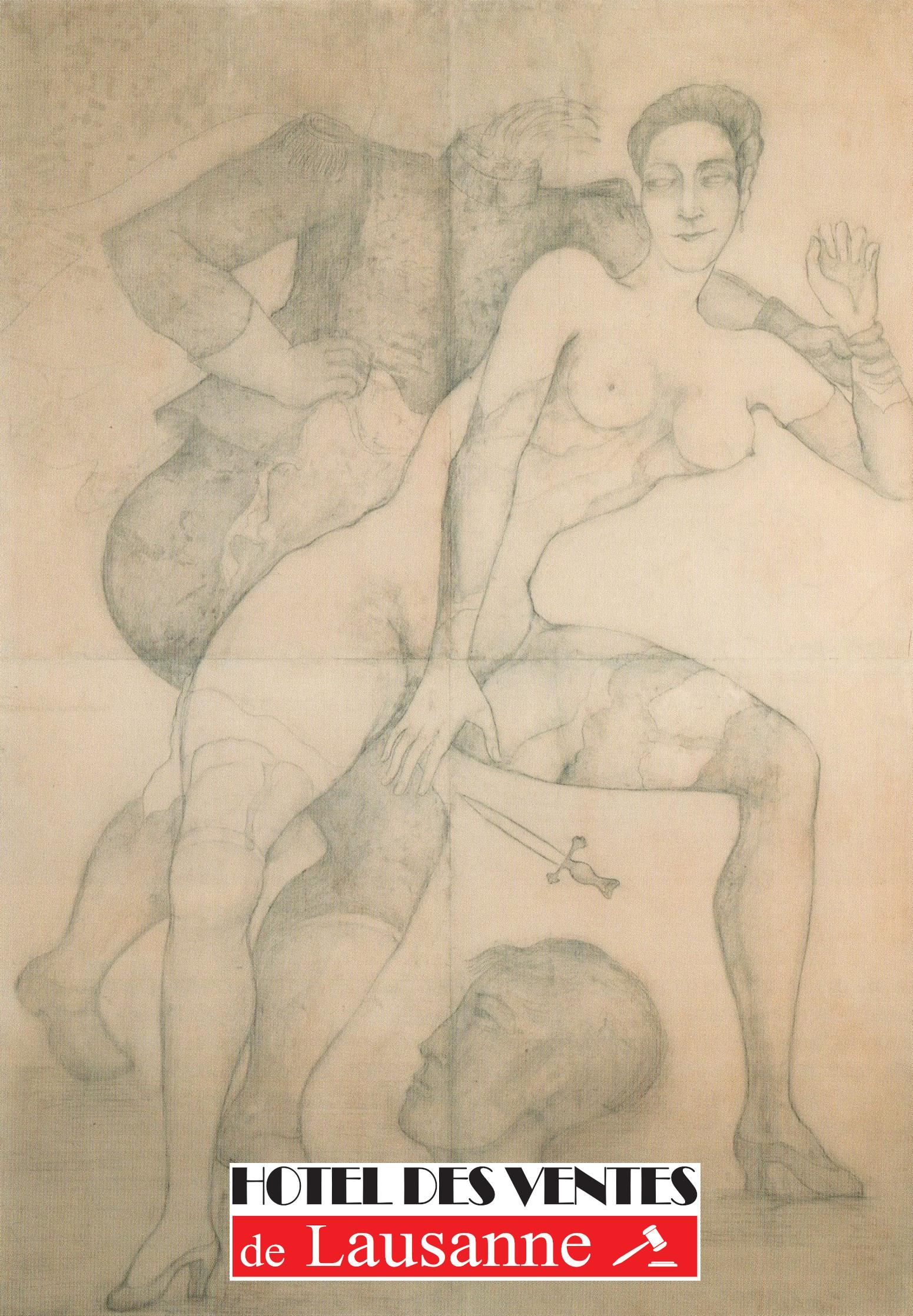 Auction Succession Volta : Dada-Tzara, Tableaux, Klossowski, Arts Premiers (139 lots), Photos, Art 1900-1930, Bijoux at Hôtel des Ventes de Lausanne SA : 233 lots