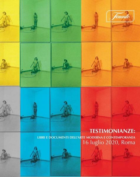 Vente Souvenirs: livres et documents sur l'art moderne et contemporain chez Finarte Auctions S.r.l. : 243 lots