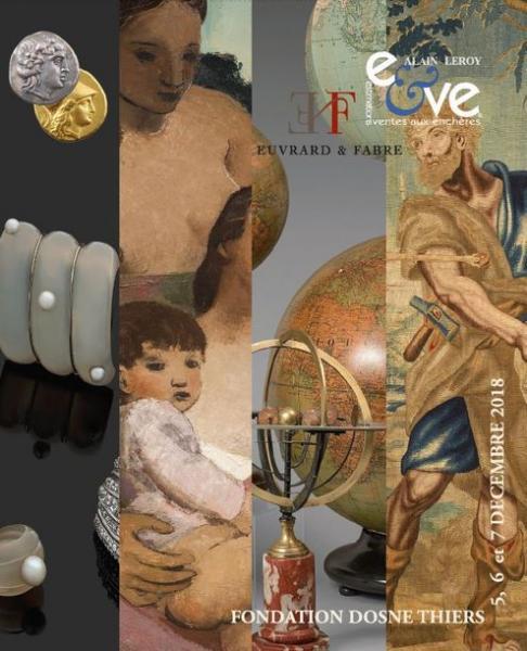 Vente Mobilier, Objets d'Art, Tableaux Anciens & Modernes chez Eve Enchères SVV : 392 lots