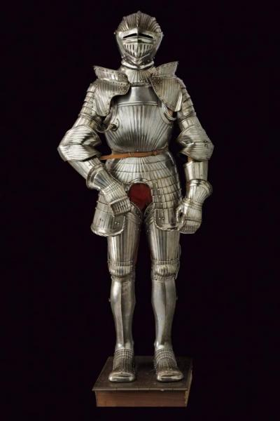 A complete maximilian armour - dating: First half of the 16th Century  - provenance: [...]