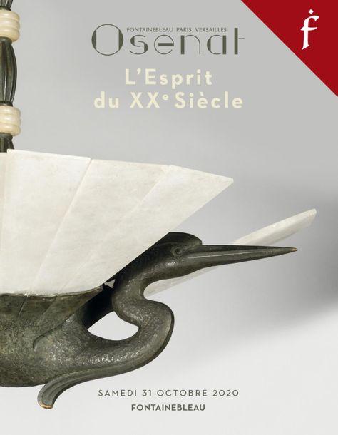 Vente L'Esprit du XXe - Mobilier Design, Objets d'Art, Tableaux, Art Contemporain (Fontainebleau) chez Osenat : 282 lots